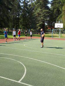 Zajęcia sportowe z Rafałem Glapińskim