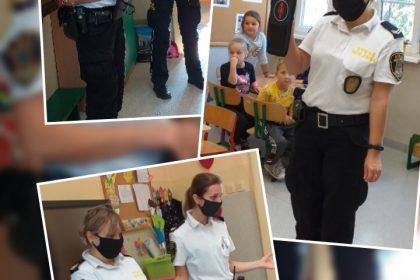 Wizyta Straży Miejskiej