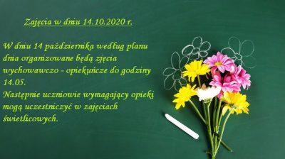 zajęcia 14.10.20 r.