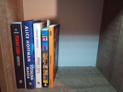 Pokaż soją półkę z książkami