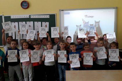Światowy Dzień Kota w klasie I