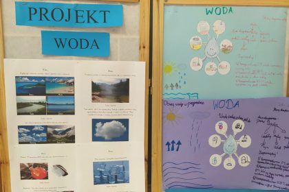 """Projekt edukacyjny """"Woda"""""""