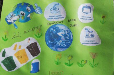 Światowy Dzień Ziemi w klasach I-III
