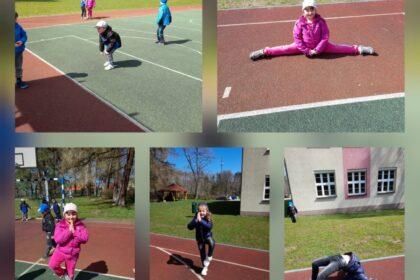 Nasze różne aktywności - z wiosną dzieci rosną