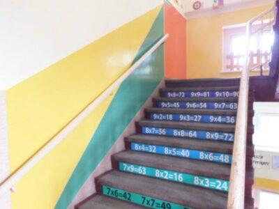 Renowacja kolorystyczna  ciągu komunikacyjnego.
