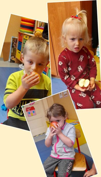 Dary jesieni u 3 latków